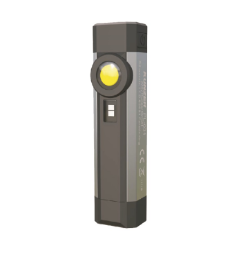 LED+UV Arbeitslampe COB Arbeitslicht (3W), SMD Kopfstrahler (1W) integrierte UV-LED Lampe