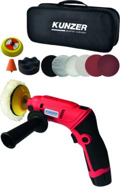 Mini-Schleifer & Polierer mit Winkelfunktion und Zubehör