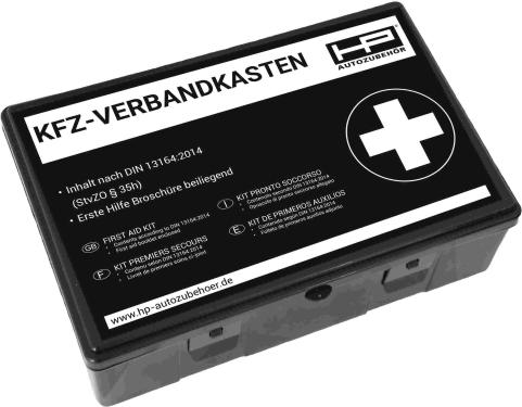 KFZ-Verbandkasten schwarz