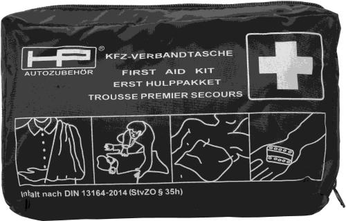 KFZ-Verbandtasche schwarz