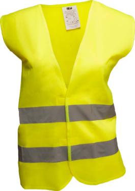 Warnweste EN 471 Neongelb