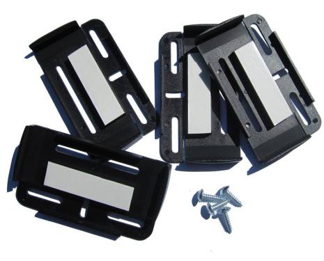 Kennzeichenhalter-Set Simple-Fix