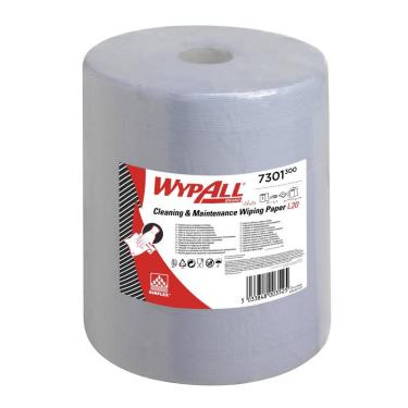 WypAll® L20 EXTRA+ Wischtücher 2-lagig, blau, 33 x 38cm