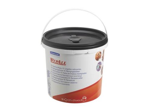 WypAll® Reinigungstücher Spendereimer, 90 Tücher