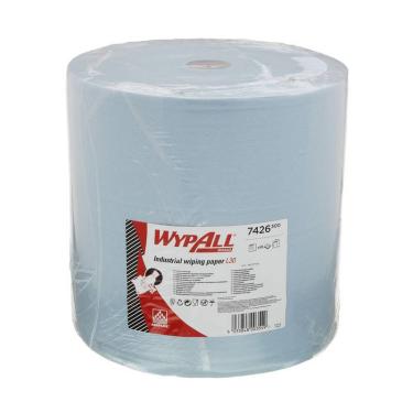WypAll® L30 Wischtücher 3-lagig, blau, 37 x 38 cm