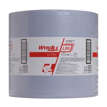 WypAll® L30 ULTRA Wischtücher 3-lagig, blau, 35 x 38cm