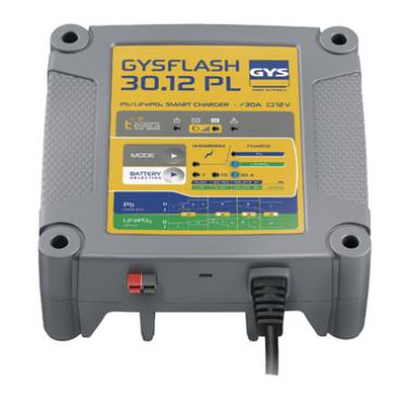 GYSFLASH 30.12 PL 12 V - 30 A Batterieladegerät