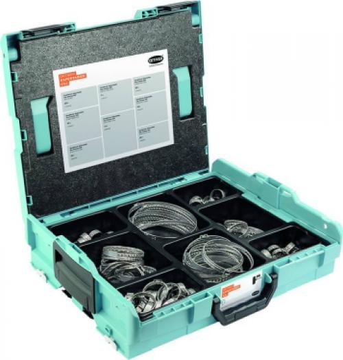 Lochbandklemmen 259 DualHook, im Koffer, 124-tlg.