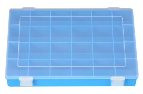 Sort-kasten PP-CLASSIC, 24 Fächer,225x335x55 mm, blau
