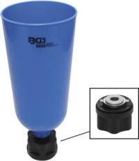 Öl-Einfülltrichter mit Bajonettadapter für VAG, Mercedes-Benz, BMW, Porsche, Volvo