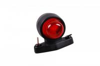 Hella - Umrissleuchte rot/weiß 2XS 955 031-001, G-Sockel