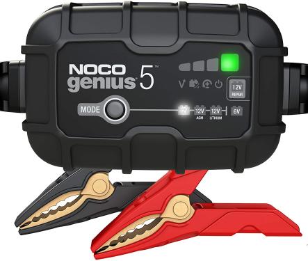 NOCO GENIUS5EU, 5-Amp Ladegerät, 6V und 12V Batterieladegerät
