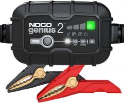 NOCO GENIUS2EU, 2-Amp Ladegerät, 6V und 12V Batterieladegerät