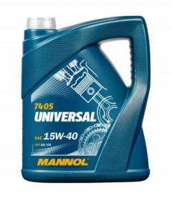 MANNOEL Universal 15W-40 / 5 Liter