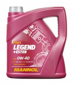 MANNOEL 0W-40 / 4 Liter
