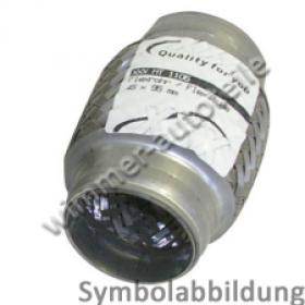Flexrohr ohne Anschlussrohr 45x100mm